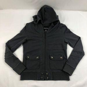Gentle Fawn Zip Up Black Jacket